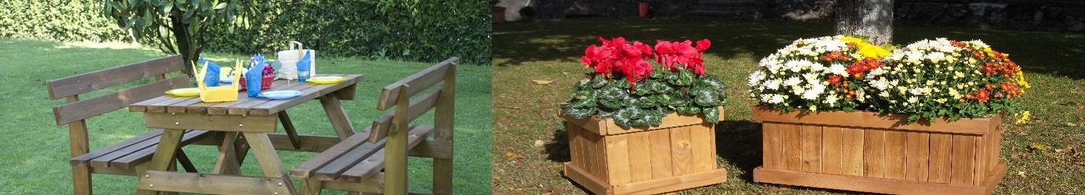 Arredo giardino - OM legno